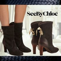 **See by Chloe**Yvonne Suede Ankle Boots☆アンクルブーツ