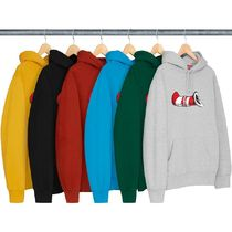 7 WEEK Supreme FW 18 Cat in the Hat Hooded Sweatshirt