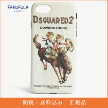 DSQUARED2 iPhone 6 / 6S / 7 / 8 iPhone ケース 白 ロゴ