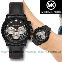 ★安心ヤマト便★MICHAEL KORS Theroux Black Watch MK8647