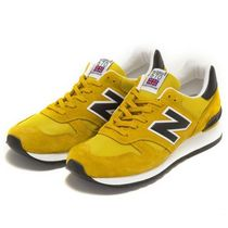 関税込★NewBalance M670SMY/Made in England/イギリス/イエロー