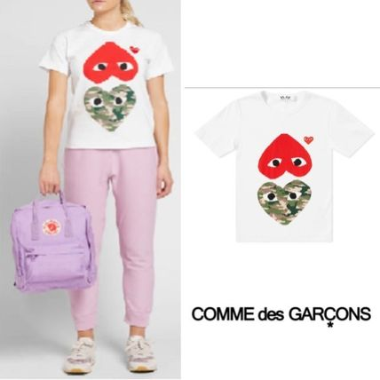 4787800dee5 COMME des GARCONS Tシャツ・カットソー Comme des Garcons Play Mix Heart Tee 半袖 White  ...