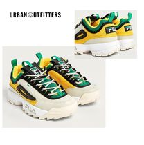 URBAN OUTFITTERS× FILA 人気スニーカー Disruptor II Trainers