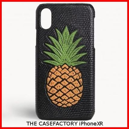 THE CASE FACTORY スマホケース・テックアクセサリー 関税送料込☆THE CASEFACTORY☆IPHONE XR PINEAPPLE