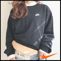国内発送・正規品★NIKE MEN'S FRENCH TERRY SWEATSHIRT★BLACK