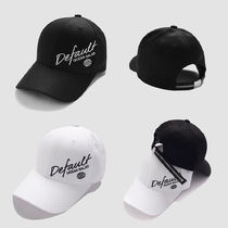 Default(デフォルト) キャップ 【Default】ZIPPER POINT STRAP CAP (2color) - UNISEX