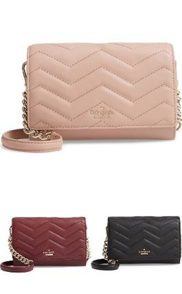 kate spade☆reese park  wyn quilted leather crossbody