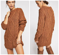【送料込み】Free People ★ Imogen Cable Knit セーター