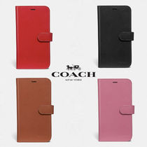 【COACH】 レザー使用 * iPhone case for X/Xs