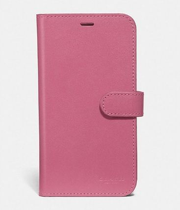 Coach iPhone・スマホケース 【COACH】 レザー使用 * iPhone case for X/Xs(6)