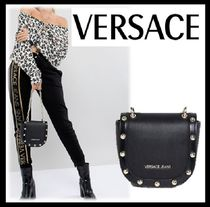 Versace★Jeans studded saddleバッグ