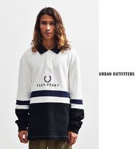 Fred Perry Embroidered Ribbed スウェットシャツ