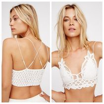 FREE PEOPLE★Adella Bralette クロシェットブラレット白Mサイズ