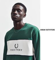 Fred Perry Piped Panel Crew-Neck スウェットシャツ