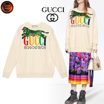 ∞GUCCI∞  プリント&パッチover sizeスウェット 関税送料込!!