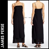 JAMES PERSE(ジェームスパース) ワンピース ★追跡付【JAMES PERSE】Collage Cami Dress