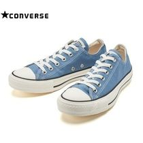 ☆国内正規品 CONVERSE ALL STAR WASHEDCANVAS OX 32863116 BLUE