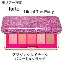 tarte(タルト) チーク ホリデー限定☆tarte☆Life of The Party☆チークパレット