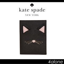 kate spade new york☆Cat's Meow パスポートホルダー