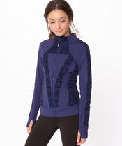 【 Perfect Your Practice Jacket 】★ Blueberry Jam/
