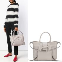 TOD'S(トッズ) トートバッグ 18-19AW T232 DOUBLE T SHOPPING BAG MEDIUM