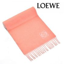 17AW ☆LOEWE☆ ANAGRAM SCARF マフラー ROSE/PEARL GREY♪