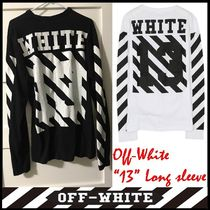 OFF-WHITE_13 Long sleeve T Shirt ☆正規品・安全発送☆