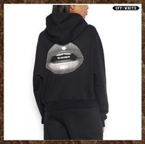 Off-White(オフホワイト)★'LIPS CROPPED' HOODIE★送料込み