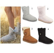 SALE★UGG★Bailey Poppy Suede Genuine Shearling Boot