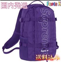Supreme/2018AW/BackPack/リュックサック/シュプリーム/パープル