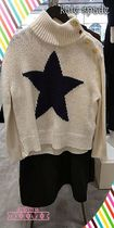 復刻大人気スターセーターkate spabe★star turtleneck sweater