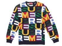 レディース 18AW Supreme Big Letters Sweater セーター