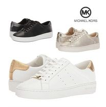 人気☆【Michael kors】 Irving Lace Up スニーカー(3色)