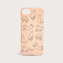 Urban Outfitters 可愛い★居眠り猫柄 iPhoneケース 6/6s/7/8