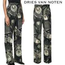 【18AW】★Dries Van Noten★printed flared trousers