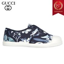 ◆SALE! GUCCI グッチ ChildSneakers ガールズスニーカー Cotton
