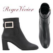 【18AW】ROGER VIVIER★Chunky Trompette ankle boots