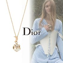 DIOR*18AW*ネックレス PERLE STELLAIRE ビーズ×Crescent Moon