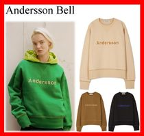 ANDERSSON BELL(アンダースンベル) スウェット・トレーナー 18AW【ANDERSSON BELL】 UNISEX CONTRAST EMBROIDERY SWEATSHIRT