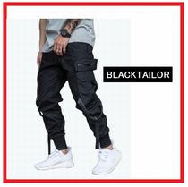 BLACKTAILOR (ブラックテイラー) PARATROOP TRACK PANTS