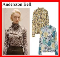 【ANDERSSON BELL】ERINA FITTED LONGSLEEVE TURTLENECK T-SHIRT