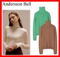 ANDERSSON BELL(アンダースンベル) ニット・セーター 人気☆【ANDERSSON BELL】☆MARIA FITTED TURTLENECK SWEATER☆