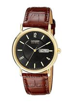 シチズン Citizen Men's BM8242-08E Eco-Drive Gold-Tone Stainl