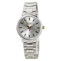 シチズン Citizen BF0614-90A Men's Easy Reader Silver Dial Tw