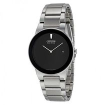 シチズン CITIZEN Axiom Black Dial Men's AU1060-51E Watch 公