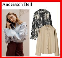 人気☆【ANDERSSON BELL】☆SYLVIA PLEATED SLEEVE BLOUSE☆3色