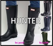 ◆HUNTER◆Original tall wellies/ロングレインブーツ