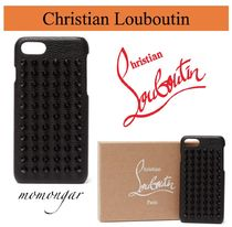 [Christian Louboutin] Loubiphone leather iPhone 7 and 8 case