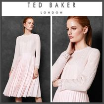 18-19AW★TED BAKER★LOOEZ レースプリーツワンピース 国内発送
