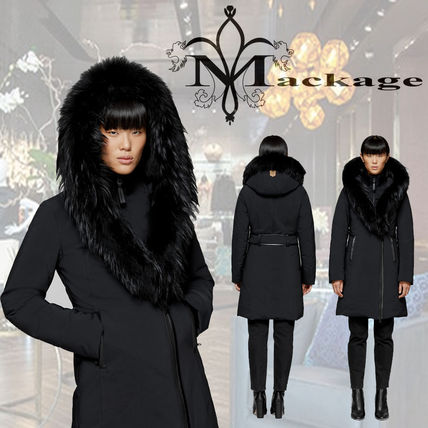 Mackage ダウンジャケット・コート *Mackage*★KAY-P classic down coat with fur collar コート